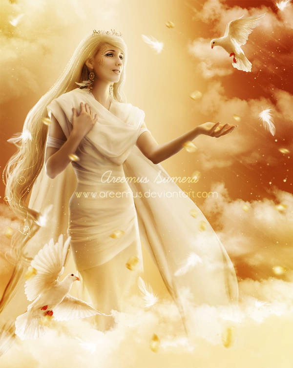 Goddess-of-Wind by areemus