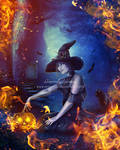 Halloween Witch-Contest Entry by areemus