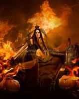 Queen-Of-Halloween-Night by areemus