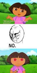 Saying No to Dora by Drewsky1211