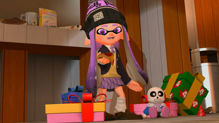 Happy Birthday, Violet Inkling! [Splatoon GMOD] by Geoffman275