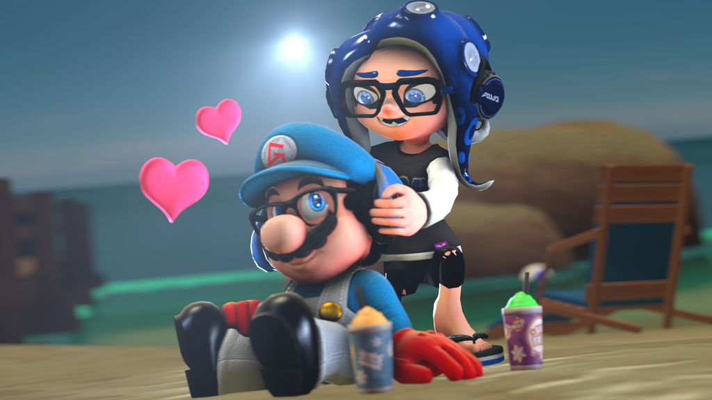 Valentine's Day of 2019 [Splatoon SFM] by Geoffman275