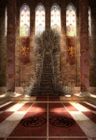 Aegon's Throne (The Iron Throne) by iamski