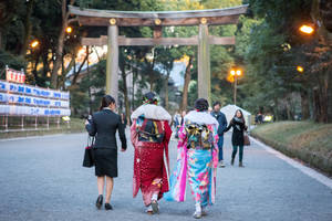 Seijin-Shiki / Modern and Traditionnal Clothes by stephane-bdc