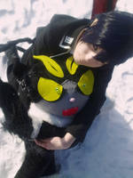 Ao No Exorcist - Rin x Kuro - keep me warm Kuro by K-I-M-I