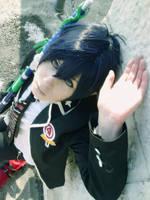 Ao No Exorcist Rin Cosplay by K-I-M-I
