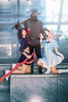 Kill la Kill - Ryuko x Nonon by K-I-M-I