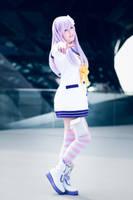 Hyperdimension Neptunia mk2 - Nepgear Cosplay by K-I-M-I