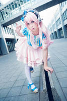 Sonipro Cosplay - SUPER SONICO by K-I-M-I