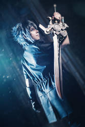 FFXV Noctis Lucis Caelum Cosplay by K-I-M-I