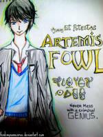 artemis fowl sketch by ithinkmynameisREE