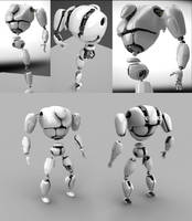 Battle Bot by iraklisan