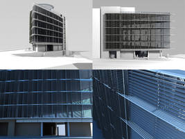 office building by iraklisan