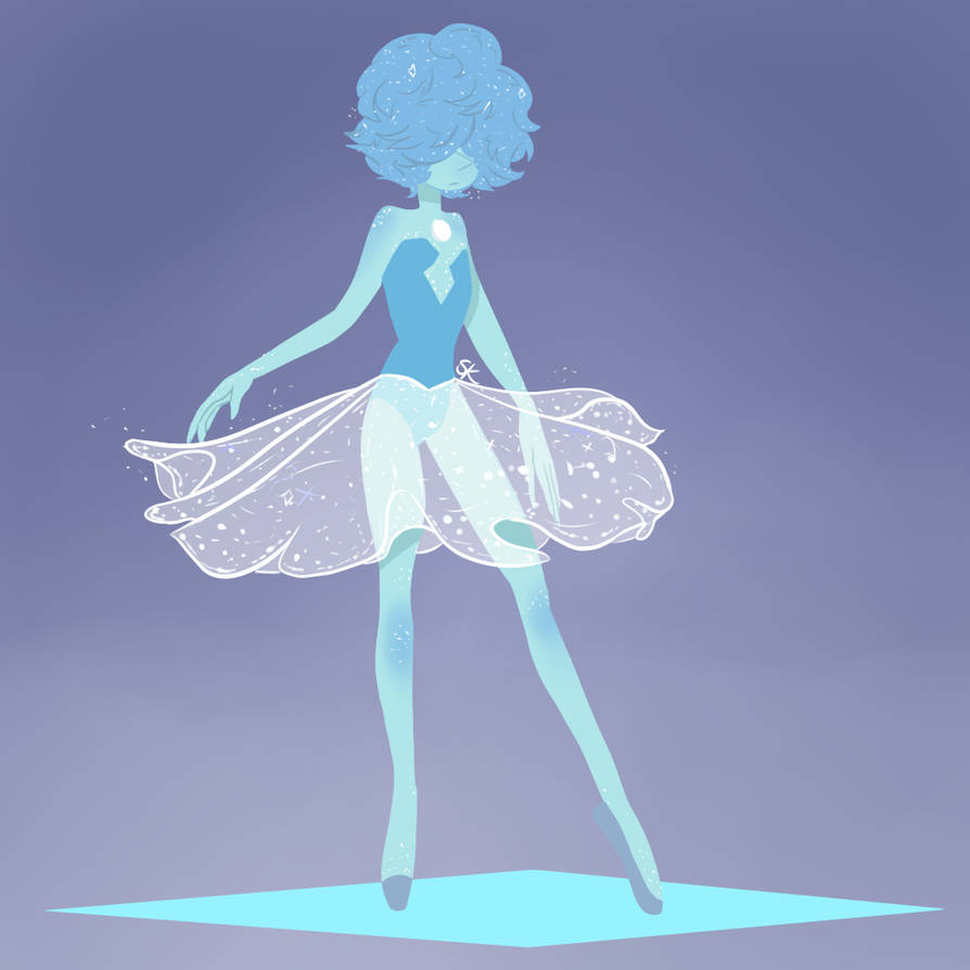 Hey! Something different which is Blue Pearl from Steven Universe.  I love SU and I love Blue waifu XD she's so uugggh elegant! I hope you enjoy and I tried a different method of colorin...