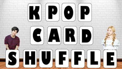 Kpop Card Shuffle Writing Game