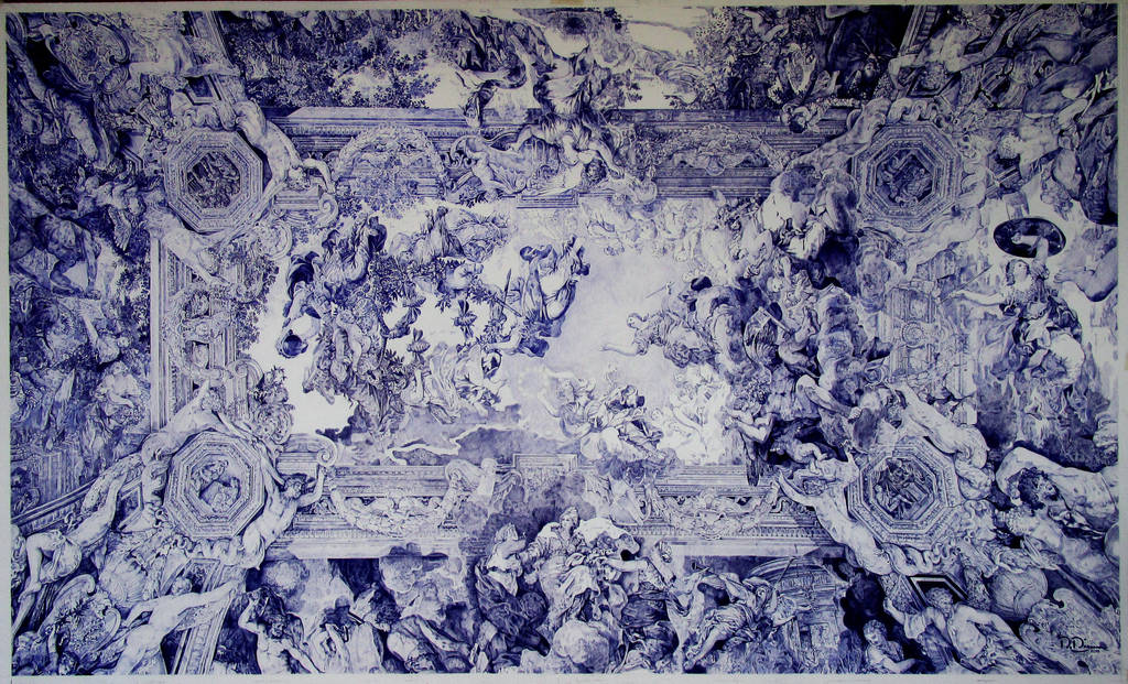 Ceiling of Palazzo Barberini by TheWalrusArt