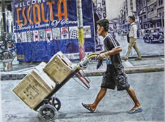 Obreros de Calle Escolta by TheWalrusArt