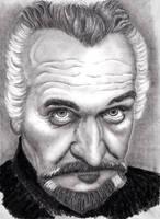 Roger Delgado - The Master by rhizin
