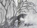 The Horse. The Lady. La Brume. by Tigrex-noir