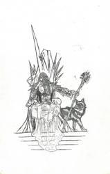 Queen of the Winter Snow by Tigrex-noir