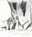 Braltaly et le cheval by Tigrex-noir