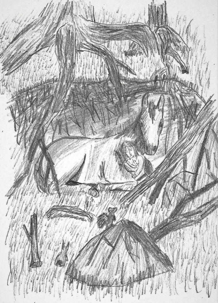 Ylen : La Petite Miserable by Tigrex-noir
