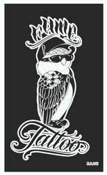 Owl / Fame Tattoo by DanielNeeta