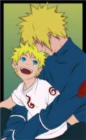 Minato and Naruto by Naruto-fan27