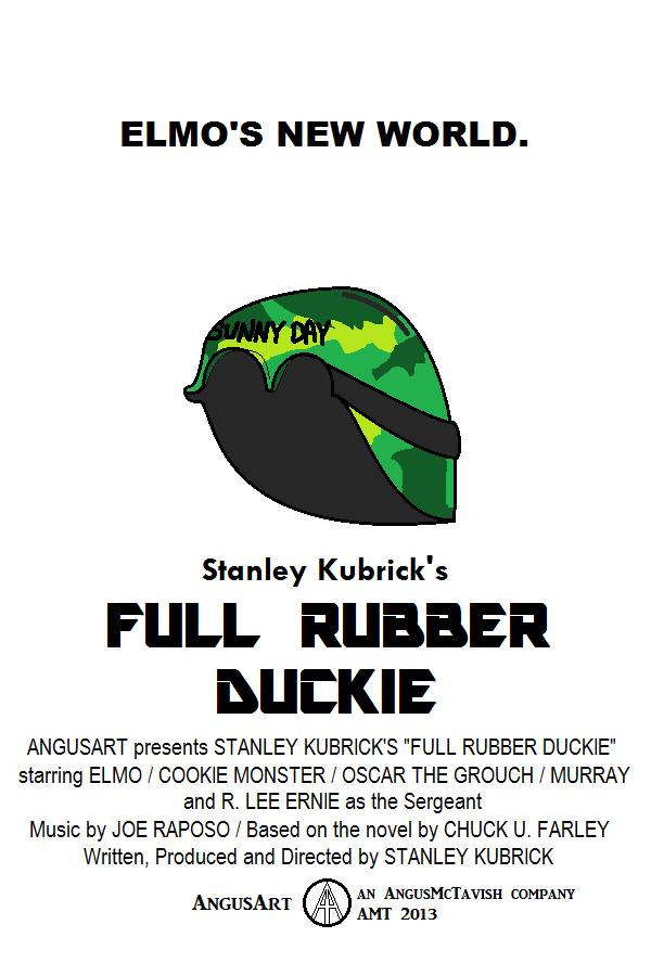 Full Rubber Duckie by AngusMcTavish