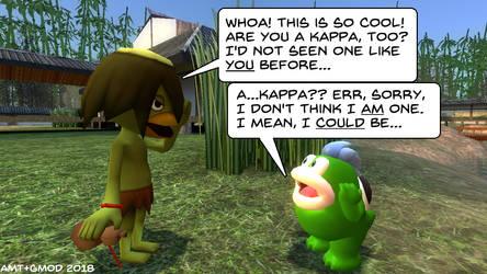 Fishy Meets a Kappa by AngusMcTavish