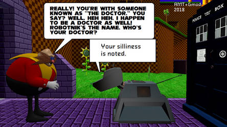 Doctor Meets K9 by AngusMcTavish