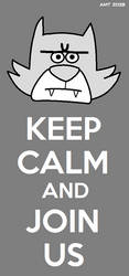 Keep Calm - Split the Room by AngusMcTavish