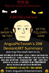 Movie Poster - 2018 dA Summary by AngusMcTavish