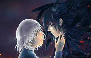 Sophie and Howl by lawlietxiii
