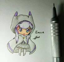 Emilia Chibi by RexJHTan