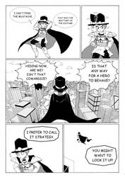Who wants to be a superhero? 104 by Michsi