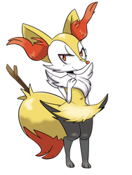 Comm Braixen by Ozzybae