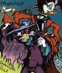 Black Lantern: Darkwing Duck by sageEmerald