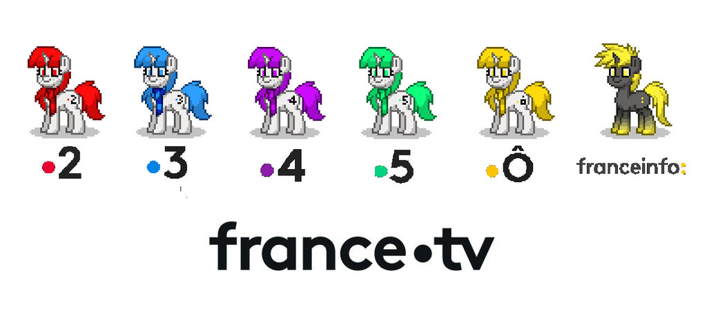france.tv ponies - ponytown by Marcelsparkle48