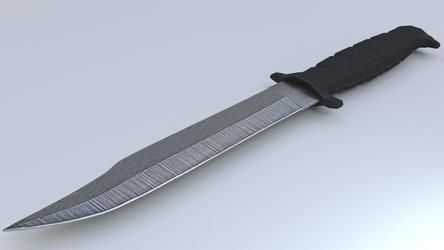 Combat Knife by JigglyRitz