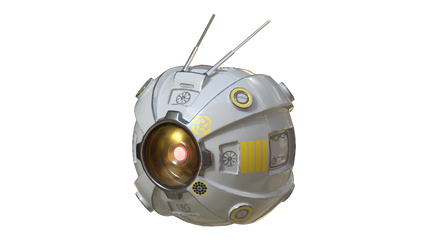 Scifi Drone by JigglyRitz
