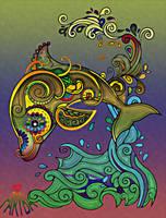 Lucky Dolphin by vafiehya