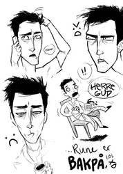 CCD: Rune's Hangover by bornirritating