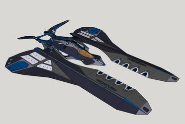Future Jet Fighter near completion by Timeserver55