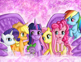 My Little Shiny Ponies by IcyPanther1