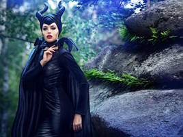Maleficent by BazingaCosplay