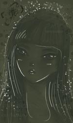 Face Of A Girl by TYEplusPIXIE-DYE