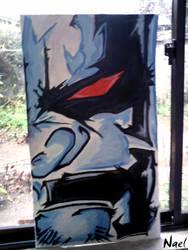 lobo de lado by artkaloide