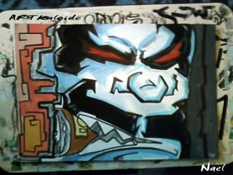 lobo smoke by artkaloide