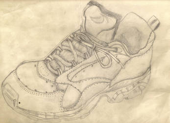 A Shoe by xchainlinkx
